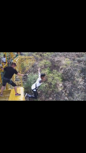 Experience of Highest Bunjee Jump in Rishikesh
