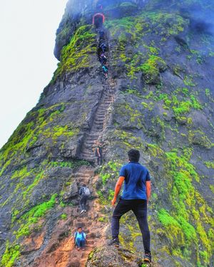 The Stairs Of Heaven ☰ (Harihar Fort)