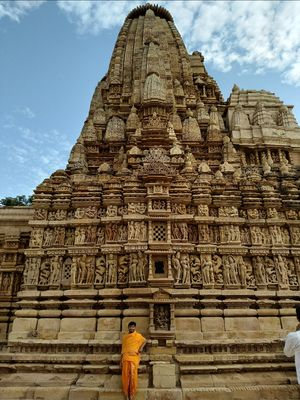 खजुराहो World famous khajuraho temples,world Heritage site... Every temple has a story