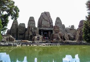 Monolithic Masroor Rock Cut Temples