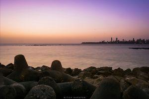 First Experience of Marine Drive, Mumbai