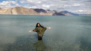 Bang On! Pangong Lake! 3 idiots movie climax