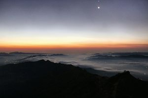 A View of Heaven from Bale-Killa, Rajgad.