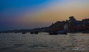 Mezmerising Dashashwamedh ghat,Varanasi.