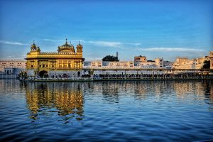 Shri Harmandir Sahib famous as Golden Temple in Amritsar, Punjab. This temple is heaven on earth.