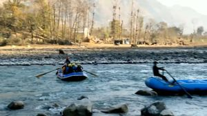White River Rafting at Himachal Pradesh #etcfununlimited