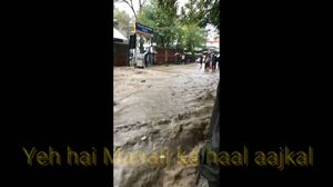 Heavy rains cause havoc in Manali Himachal Pradesh