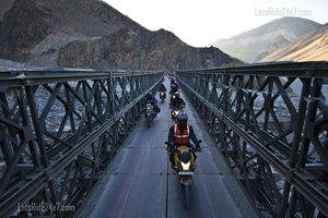 Leh Ladakh 2014 - 14 bikes 14 riders and a journey to the highest motor-able road