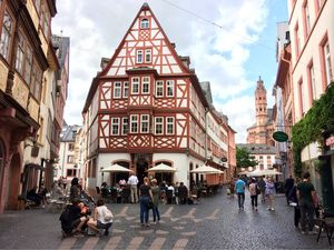 Mainz: the historic reminiscent