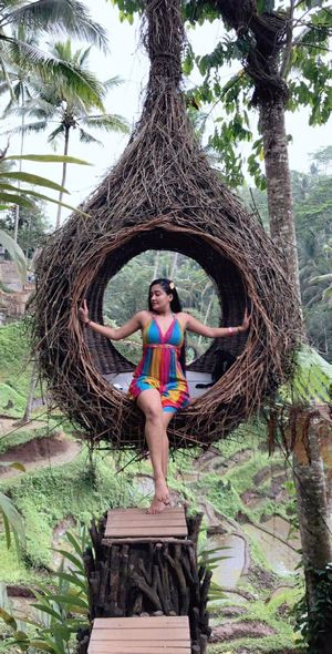 Fly high with Swing and Pose your best in Bali Nest ????