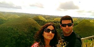 Awesome Chocolate Hills and Bohol Island, Philippines