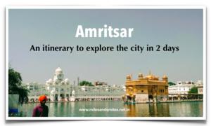 Home ofPhulkari : Day 1 in Amritsar