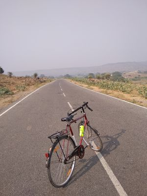 My 110 kms cycling trip to Lakhaniya waterfalls will leave you open mouthed