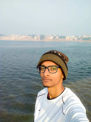 Selfie from the other side of Kashi #SelfieWithAView #TripotoCommunity