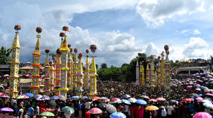 Behdienkhlam Festival is the most celebrated religious festival among the Pnars of Jaintia Hills