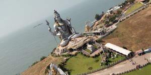#Murdeshwar #Lord Shiva Temple #World's Second tallest Shiva Statue #Amidst Western Ghats