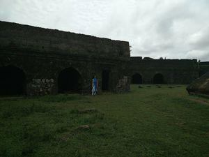 Munjarabad fort - starshaped fort