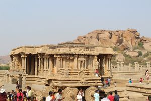 Exploring Hampi - Unesco world heritage site