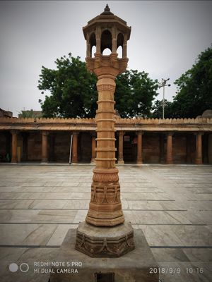 Jama Masjid, Ahmedabad- A walk to the mosque through hindu streets.