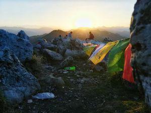 Sunrise at George Everest,Mussorie