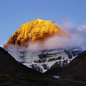 The unattainable ascent: Mount Kailash