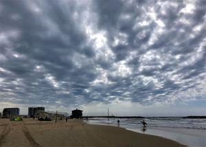 Lazy day at Herzilya Beach