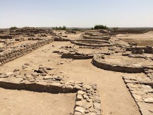 Dholavira - Indus Valley Civilization Excavation Site