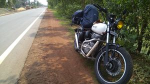 Kolkata to Hyderabad on a Bike