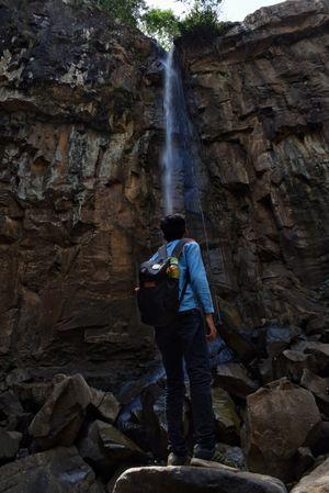Mesmerising waterfall