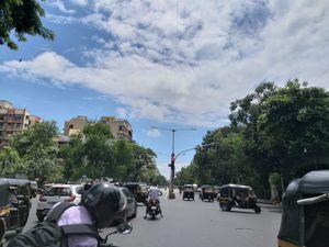 Beautiful clouds in Mumbai