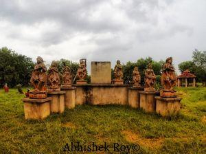 Weekend trip to Shantinekatan in Bolpur, West Bengal..