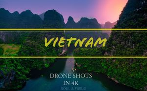 Vietnam from the sky : Drone shots in 4K #soulandfuel