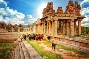 HAMPI : The Golden Remnants of a Powerful Empire | Soul & Fuel