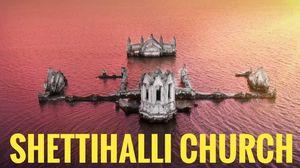 Karnataka's Spooky Submerged Church : Drone foootage