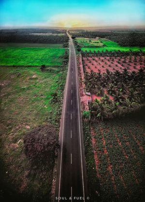 Kodaikanal : From the Air (Drone view)