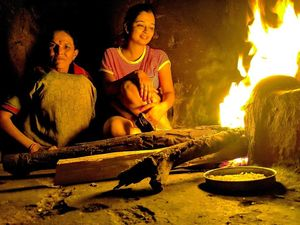Glimpse of life in a village- living like a local