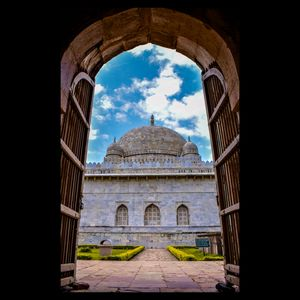 The first marble structure of India: Hoshang Shah's Tomb