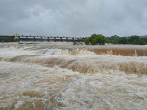 Khadakwasla Dam Pune during Monsoon