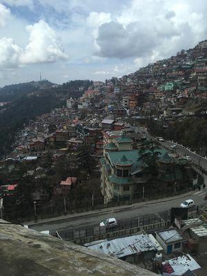 The sleepless night in Shimla