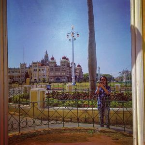 A Selfie, A Mirror Selfie! Can't get any better than this. #SelfieWithAView  #TripotoCommunity