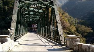 YAMUNA BRIDGE MUSSOORIE