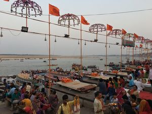 Charismatic Ganga Aarti At Shiv Ki Nagri Kashi The Land of Salvation