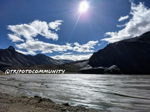 Nature always wear the color of the Spirit When i recently go to leh ladakh ....i click that one pic