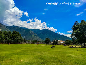 The eye_catching view of Chowgan ,Kistwar  jammuandkashmir (India)located in the middle himalyas.