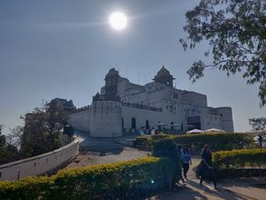 Fairytale Castle in the city of Udaipur