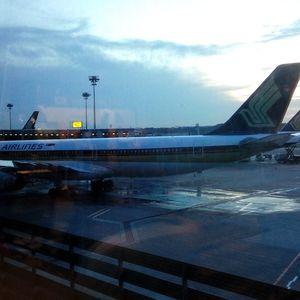 Changi airport... Singapore