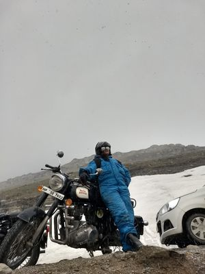 At the top - Rohtang Pass