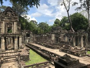 Preah khan, one of the largest and most diverse amongst the Angkor temples.
