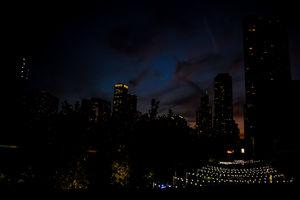 Street lights, city nights