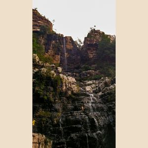 Amazing beauty of Talakona Waterfall in between the forest. #MyKindaCity #BestTravelPicture @tripoto